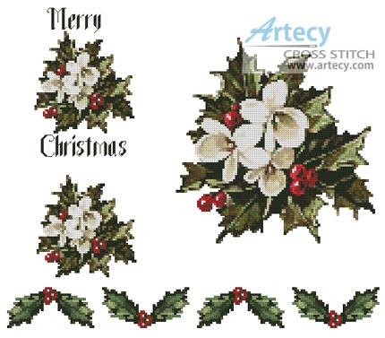 TSR - Pattern Xmas Tablecloth - Alice's Cre8ive Embroidery